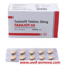 Tadajoy 20 мг (дженерик Сиалис- тадалафила 20 мг)