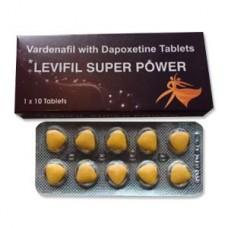 Levifil Super Power (Левитра 40мг+Дапоксетин 60мг) 1таб